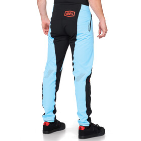100% R-Core-X DH Broek Heren, light blue/black